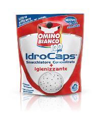 OMINO BIANCO 100 PIU' IDROCAPS + IGIENIZZANTE - 14 PEZZI