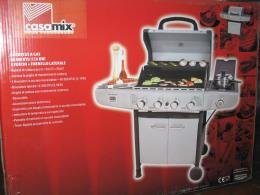 BARBECUE GAS 4 FUOCHI GRAN CHEF GRILL PORCELLANA A&G C109861
