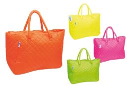 BORSA MARE FLUO' TRAPUNTATA COVERI 4AS.