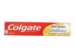 COLGATE® DENTIFRICIO ANTI TARTAR PLUS WHITENING 75 ML