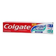 COLGATE® DENTIFRICIO TRIPLE ACTION 2x75 ML