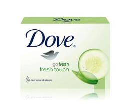 DOVE CREAM BAR SAPONE GO FRESH BEAUTY FRESH TOUCH CETRIOLO E TE' VERDE - 2 x 100 G