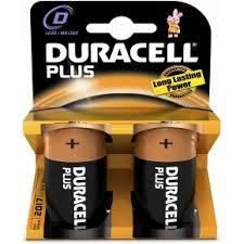 DURACELL PLUS POWER TORCIA D - MN1300 - 2 PEZZI