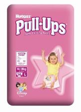 HUGGIES PULL UPS LARGE GIRL - 14 PEZZI