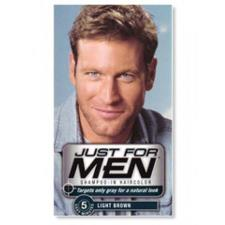 JUST FOR MEN SHAMPOO COLORANTE CASTANO CHIARO - 60 ML
