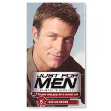 JUST FOR MEN SHAMPOO COLORANTE CASTANO MEDIO - 60 ML