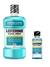 LISTERINE® COOLMINT 500 ML + 95 ML GRATIS