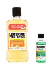 LISTERINE® FRESH CITRUS 500 ML + 95 ML GRATIS