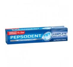PEPSODENT DENTIFRICIO COMPLETE 75 + 25 ML