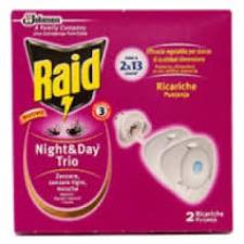 RAID NIGHT AND DAY TRIO - DOPPIA RICARICA