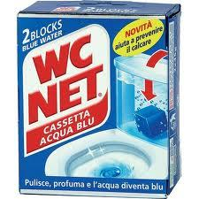 WC NET CASSETTA ACQUA BLU